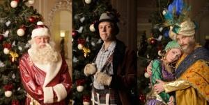 Герои новогодней сказки в Театре музкомедии