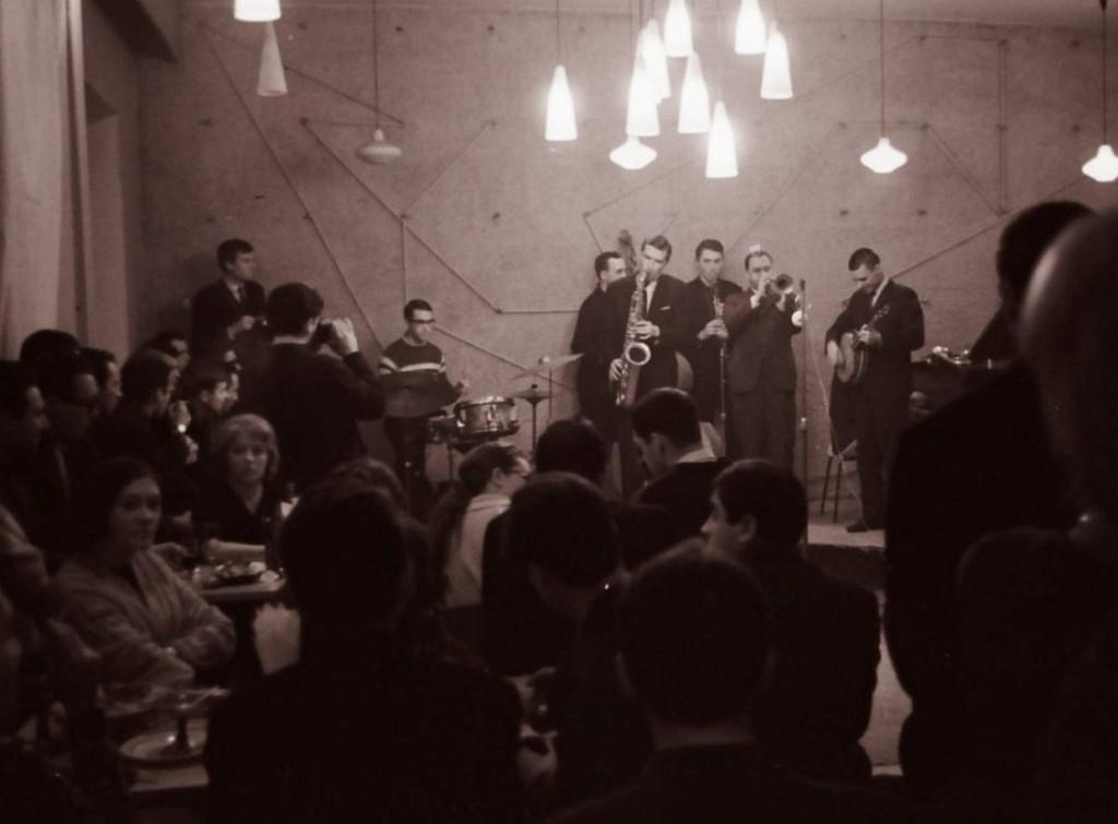 Джем в кафе «Аэлита», 1961 (фото_ Михаил Кулль)