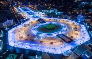 Концерт на льду «Зачетная Москва» на ВДНХ